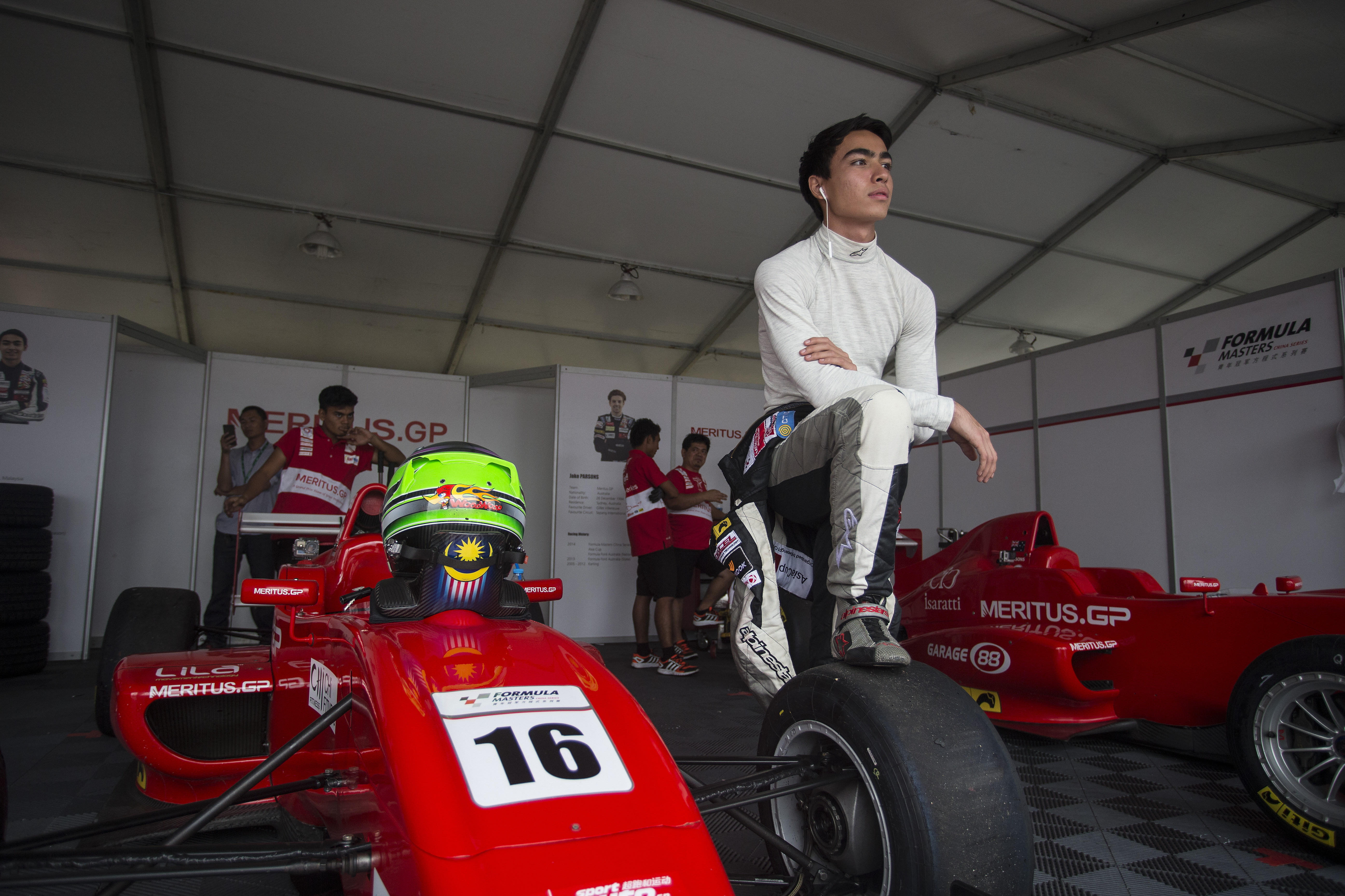 Formula Masters China Series Shanghai International Circuit, Shanghai, China. Saturday 6th June 2015. Photo: Andrew Ferraro/FMCS www.andrewferraro.com